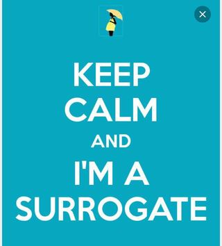 Keep calm surrogate
