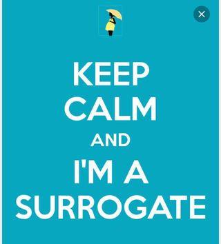 Keep calm surrogate