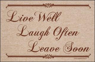 Leave soon
