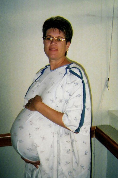 Sharon Pregnant with Twins 2005 by Sharon LaMothe ...